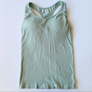 Forever 21 Sage Green Tank Top Racerback Active /G